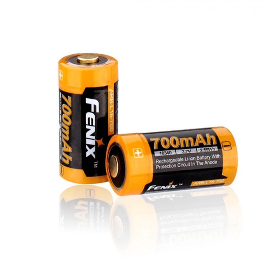 цена на Аккумулятор 16340 Fenix ARB-L16 700mAh
