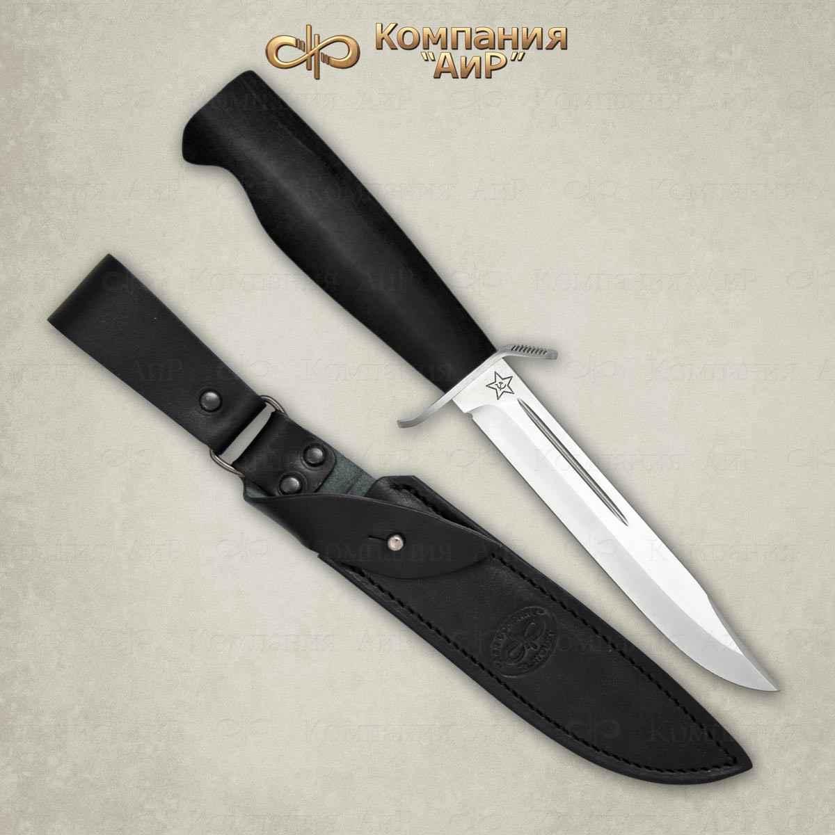 Нож разделочный АиР Штрафбат, сталь Elmax, рукоять граб