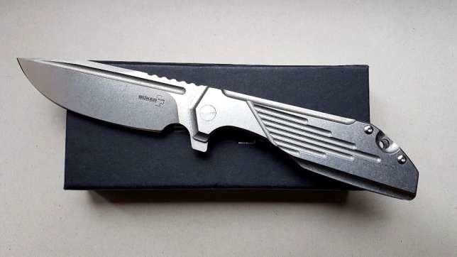 Фото 14 - Нож складной Jason B. Stout Design