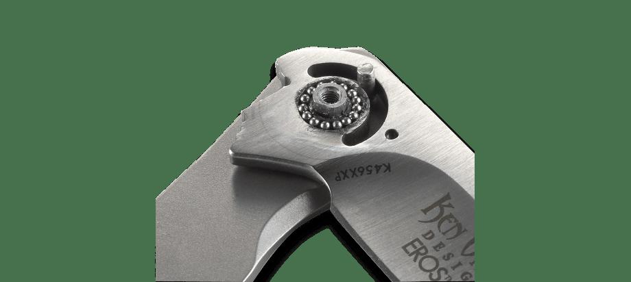 Фото 9 - Складной нож CRKT Eros Large - Flat Handle, сталь AUS 8, рукоять сталь 420J2