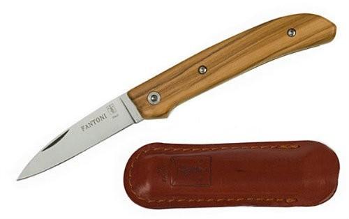 Нож складной Dweller, Оlive Wood Handle, Massimo Fantoni Design 6.6 см.