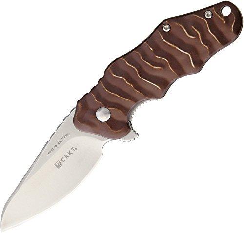 Фото 9 - Нож складной CRKT Onion Wrinkle 2, сталь Aus 8, рукоять алюминий