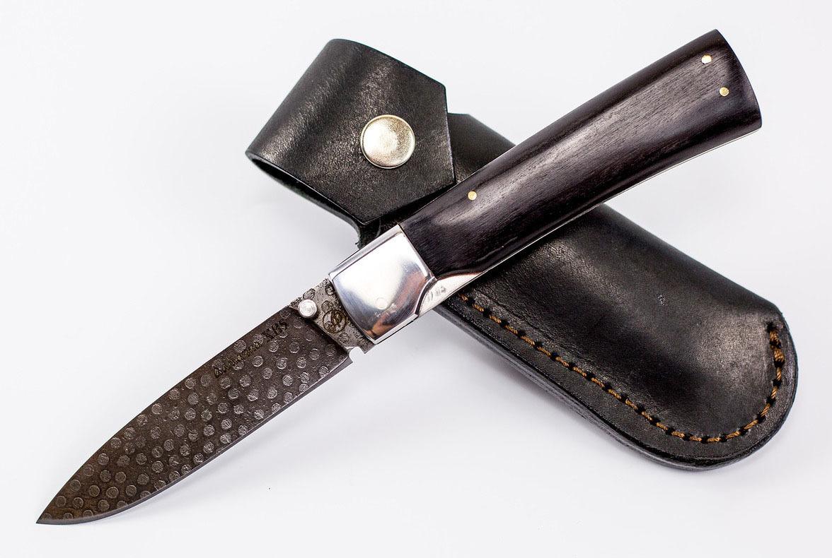 Фото 14 - Нож складной Ласка М, сталь ХВ5, граб от Ножи Фурсач