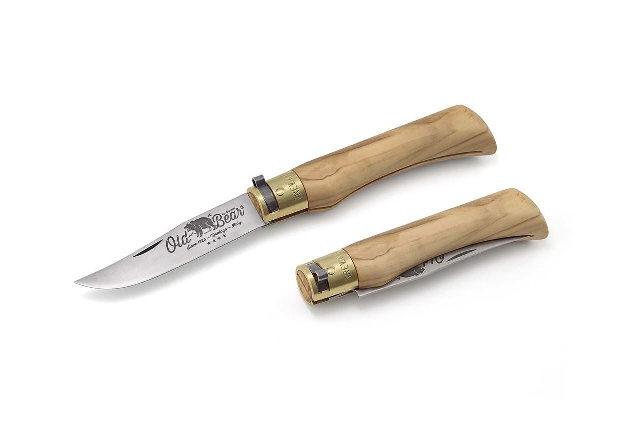 Складной нож Olive L, оливковое дерево от Antonini