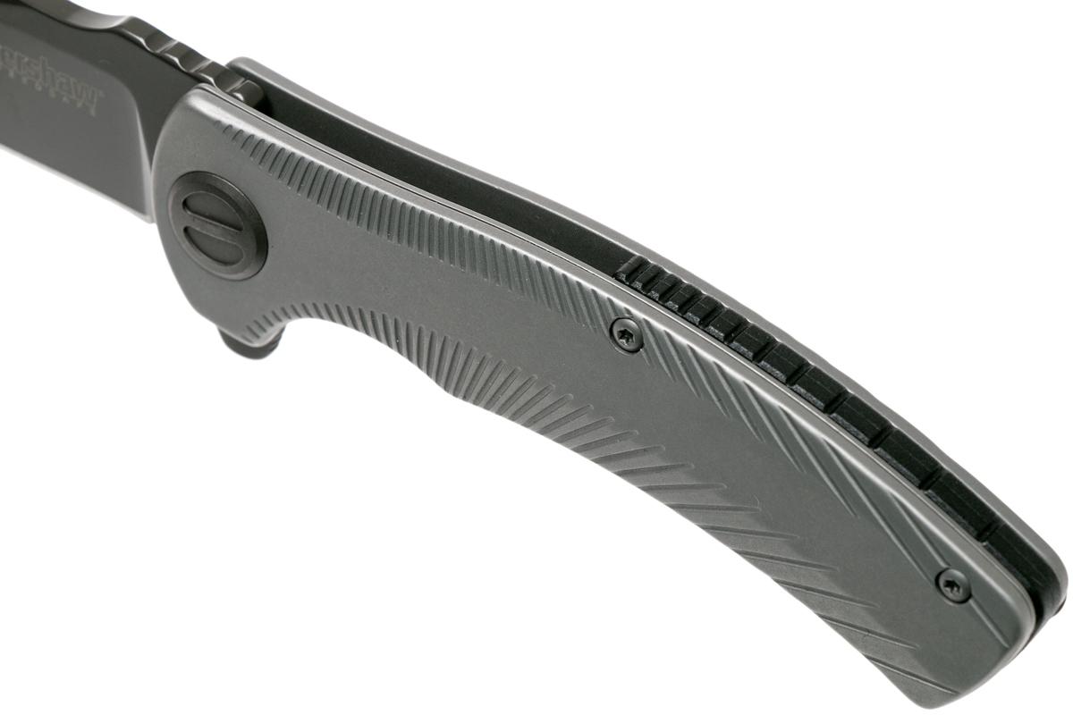 Фото 10 - Складной нож Seguin - Kershaw 3490, сталь 8Cr13MoV, рукоять нержавеющая сталь