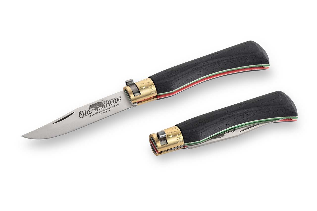Складной нож Laminate M, стабилизированная древесина от Antonini