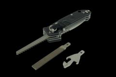 Многофункциональный складной нож с выкидным стропорезом Extrema Ratio Police EVO, сталь Böhler N690, рукоять алюминий, фото 3