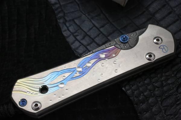 Фото 7 - Нож складной Chris Reeve Large Sebenza, сталь дамаск с рисунком