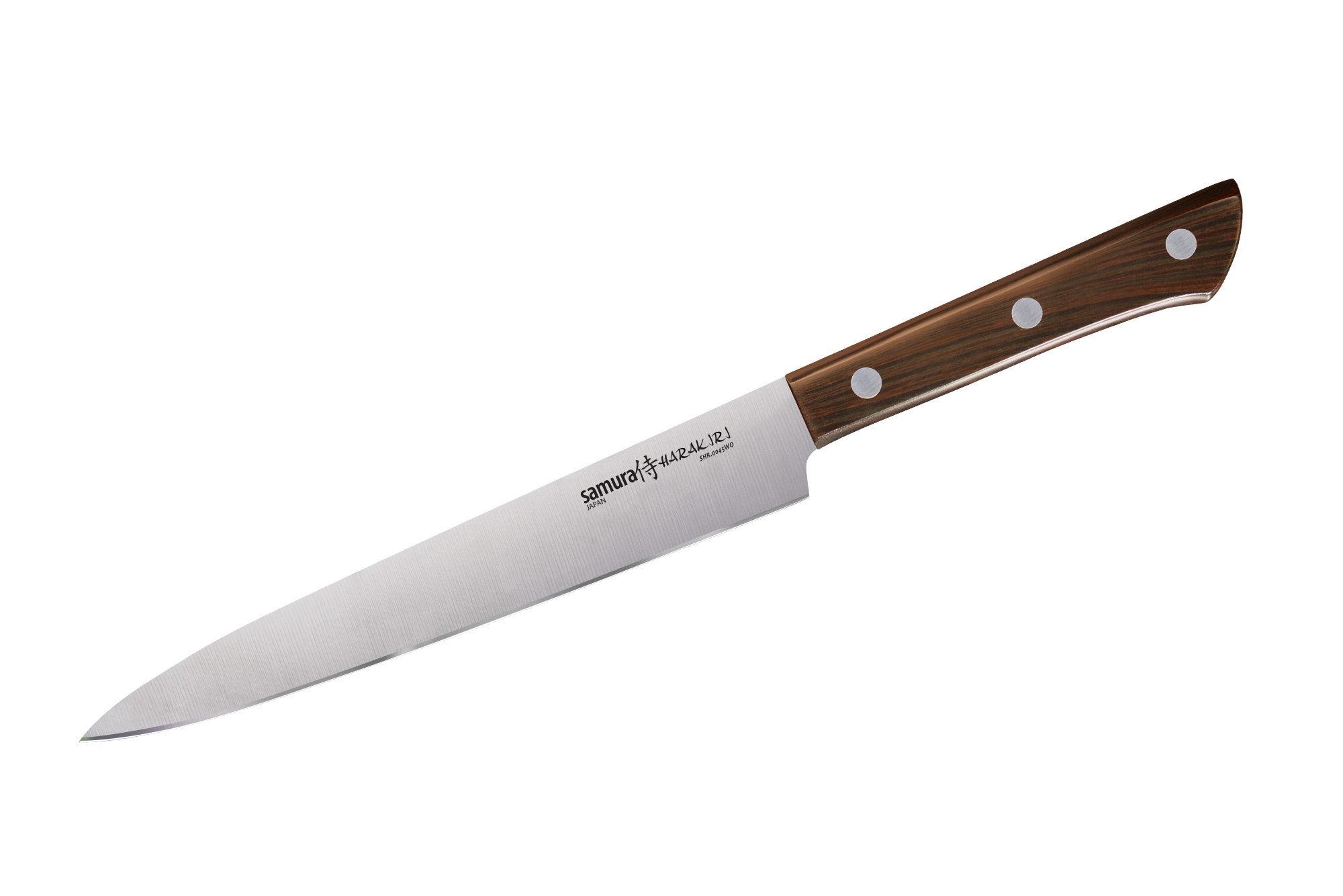 Нож для нарезки Samura Harakiri 196 мм, AUS-8, ABS пластик