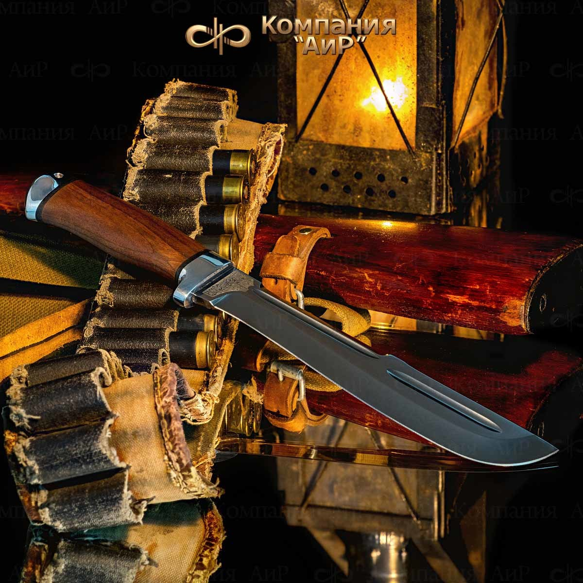 Мачете разделочный АиР Ицыл мачете, сталь 100х13м, рукоять дерево мачете zombie killer