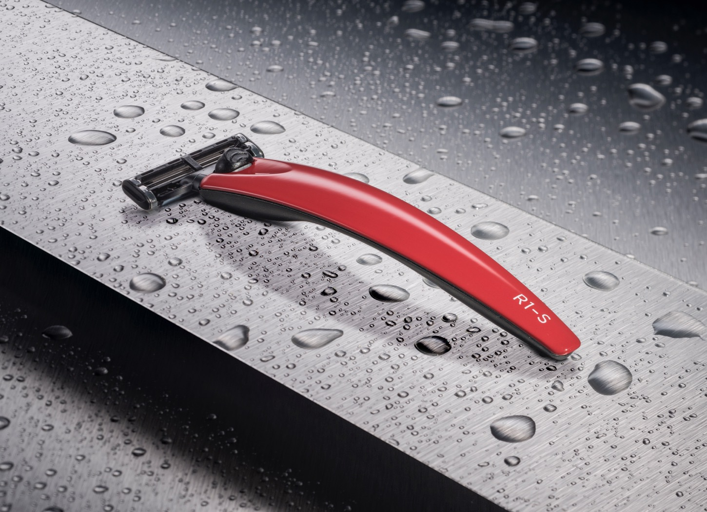 Бритва Bolin Webb R1-S, красная, Gillette Mach3 подарочный набор bolin webb r1 бритва r1 union jack подставка r1