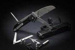 Многофункциональный складной нож с выкидным стропорезом Extrema Ratio Police EVO, сталь Böhler N690, рукоять алюминий, фото 8