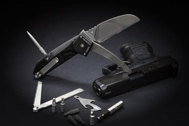 Фото 9 - Многофункциональный складной нож с выкидным стропорезом Extrema Ratio Police EVO, сталь Bhler N690, рукоять алюминий