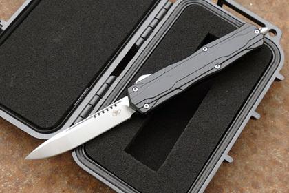 Фото - Автоматический фронтальный нож  Reptilian LLKB303E, сталь m390