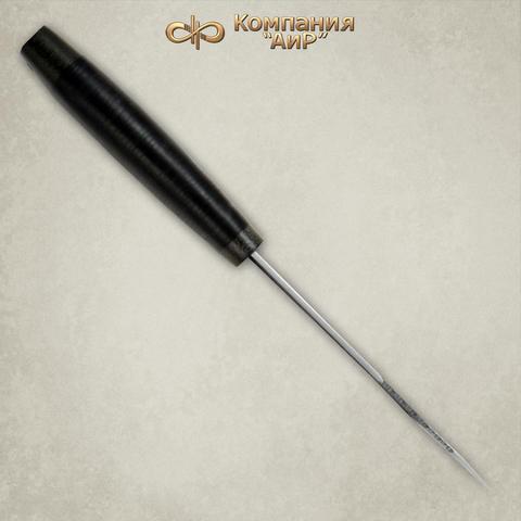 Нож АиР Стрелец, сталь К-340, рукоять кожа. Вид 3