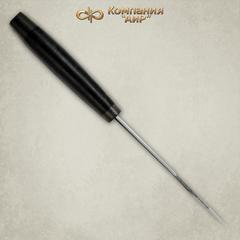 Нож АиР Стрелец, сталь К-340, рукоять кожа, фото 3