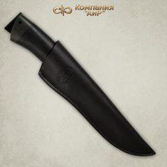 Нож АиР Стрелец, сталь К-340, рукоять кожа, фото 5