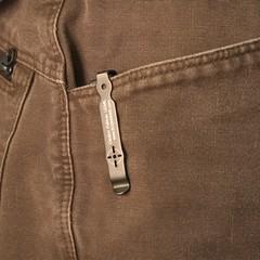 Складной автоматический нож SOG-TAC Mini ST11, сталь Aus 8, рукоять алюминий, фото 3