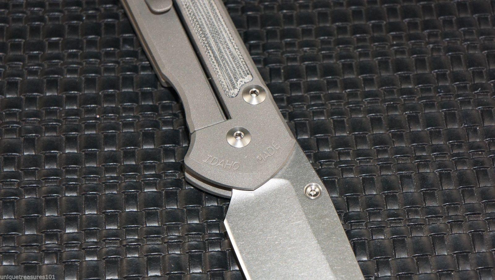 Фото 10 - Нож складной Large Sebenza 21 Insingo Micarta Inlay от Chris Reeve