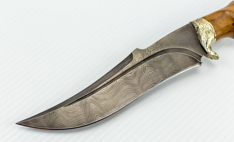 Фото 19 - Авторский Нож из Дамаска №45, Кизляр от Noname