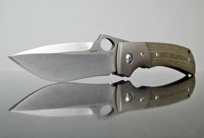 Фото 13 - Складной нож Boker Plus Squail 01BO310, сталь 440C, рукоять микарта