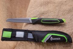 Нож Gerber Freescape Paring Knife, сталь 7Cr17MoV Black Oxide Coating, рукоять резина, 31-002886, фото 5