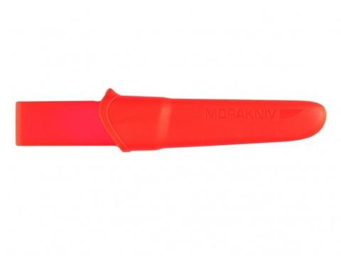 Нож с фиксированным лезвием Morakniv Companion F Rescue, сталь Sandvik 12С27, рукоять резина/пластик. Вид 5