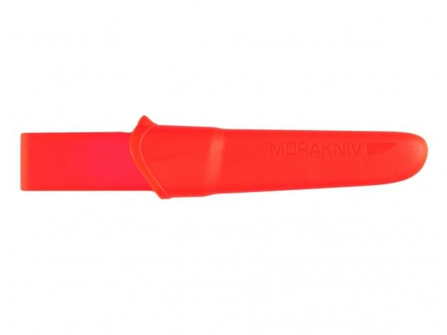 Фото 12 - Нож с фиксированным лезвием Morakniv Companion F Rescue, сталь Sandvik 12С27, рукоять резина/пластик