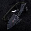 Нож для выживания Тайник, черный - Nozhikov.ru
