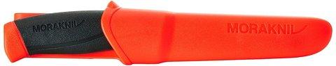Нож с фиксированным лезвием Morakniv Companion F Rescue, сталь Sandvik 12С27, рукоять резина/пластик. Вид 6