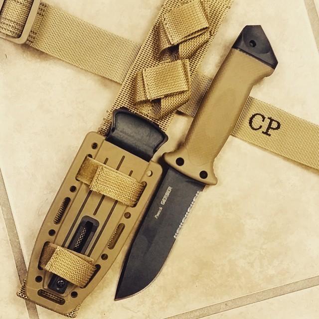 Фото 7 - Нож с фиксированным клинком Gerber LMF II Survival - R, сталь 420HC, рукоять термопластик GRN