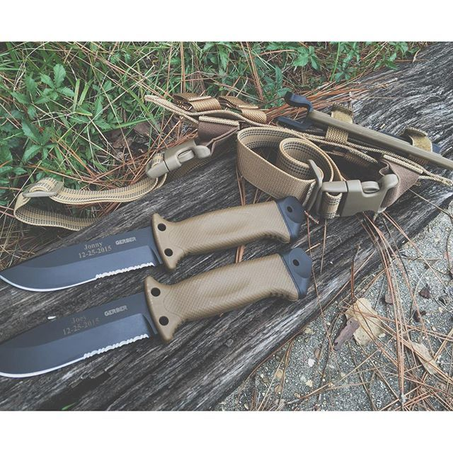 Фото 8 - Нож с фиксированным клинком Gerber LMF II Survival - R, сталь 420HC, рукоять термопластик GRN