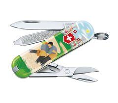 Складной нож Victorinox Classic LE2020 Swiss Wrestling, 58 мм 7 функций, фото 1