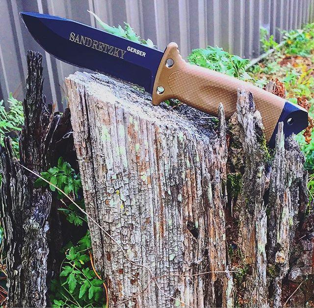 Фото 9 - Нож с фиксированным клинком Gerber LMF II Survival - R, сталь 420HC, рукоять термопластик GRN