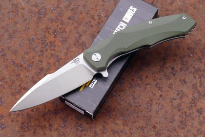 лучшая цена Складной нож Bestech Warwolf, D2