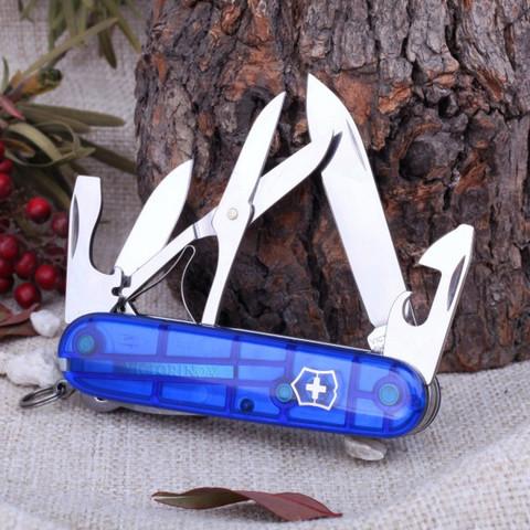Нож перочинный Victorinox Climber, сталь X55CrMo14, рукоять Cellidor®, синий. Вид 5
