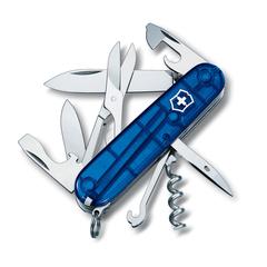Нож перочинный Victorinox Climber, сталь X55CrMo14, рукоять Cellidor®, синий, фото 1
