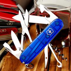 Нож перочинный Victorinox Climber, сталь X55CrMo14, рукоять Cellidor®, синий, фото 6