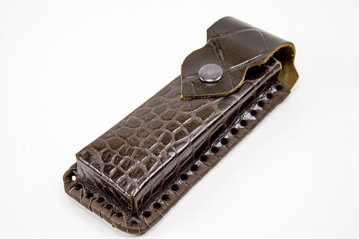 Фото - Кожаный чехол для складного ножа, 130 мм от Кузница Семина