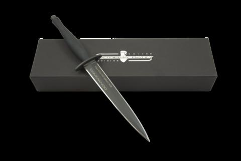 Нож с фиксированным клинком Extrema Ratio E.R. Commando Black, сталь Böhler N690, рукоять алюминий. Вид 5