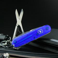 Нож перочинный Victorinox Climber, сталь X55CrMo14, рукоять Cellidor®, синий, фото 9