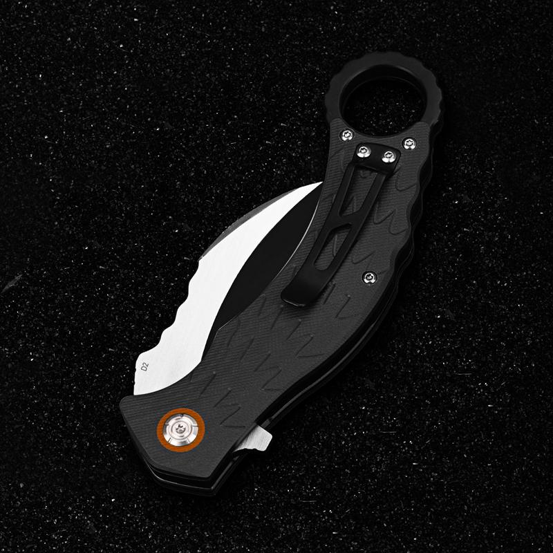 Фото 2 - Складной нож керамбит Eagle, D2 от QSP