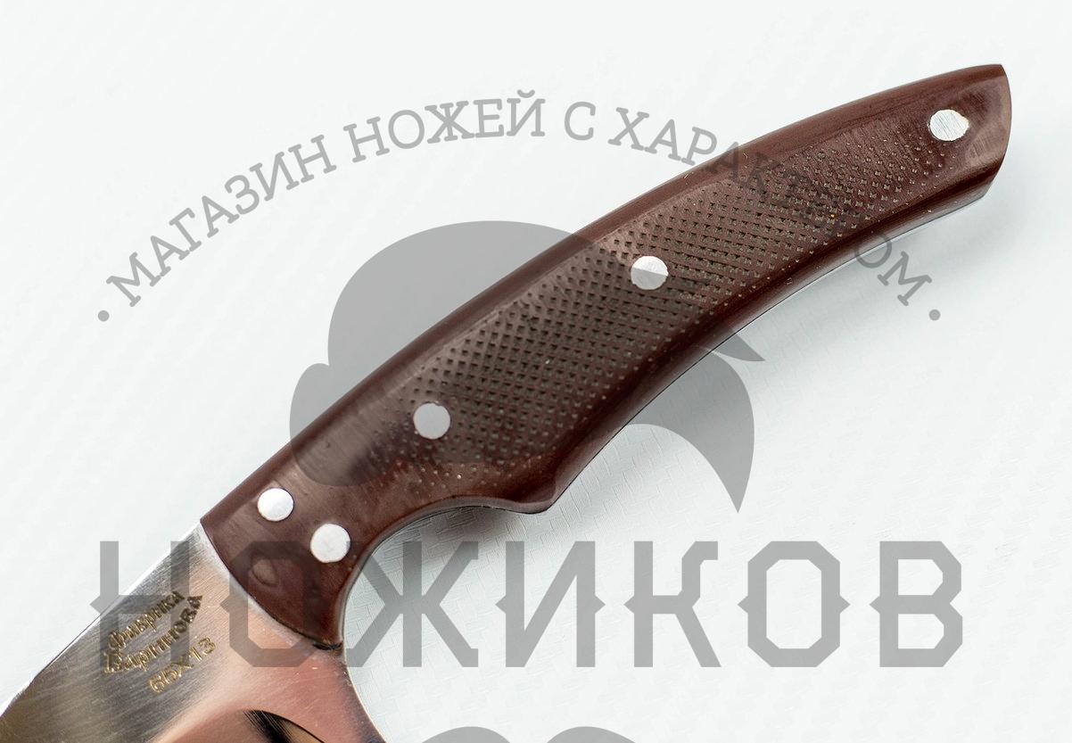 Фото 10 - Нож Горец малый от Фабрика Баринова