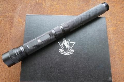 Нож куботан Спелеолог, с фонариком. Вид 4