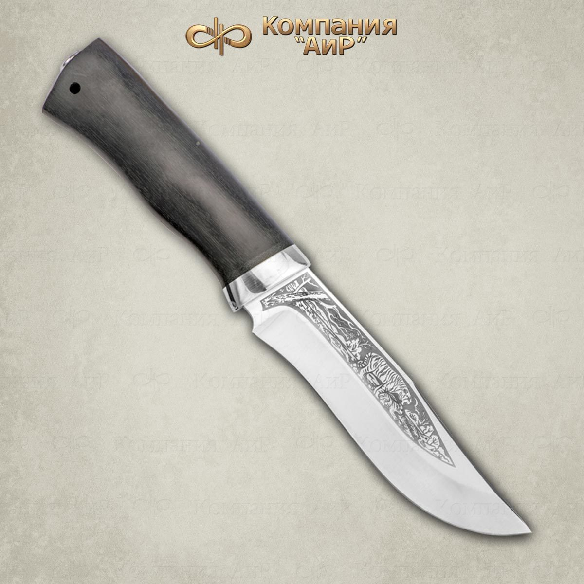 Фото - Нож разделочный АиР Клычок-3, сталь ЭП-766, рукоять граб нож разделочный аир финка 3 сталь эп 766 рукоять карельская береза