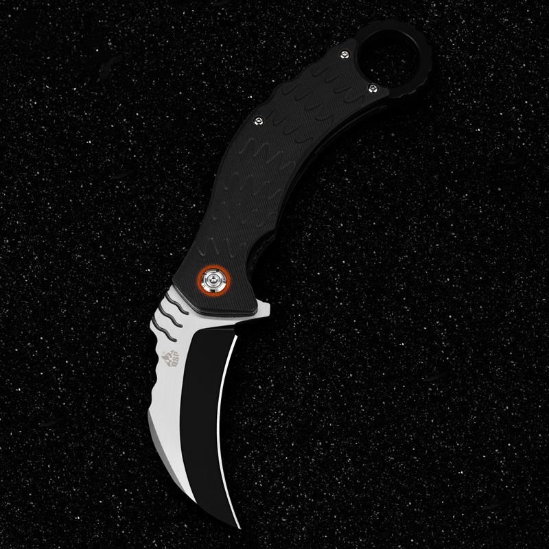 лучшая цена Складной нож керамбит Eagle, D2