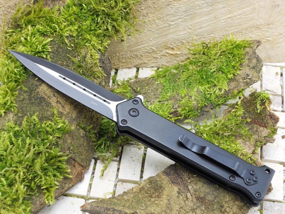 Фото 4 - Складной нож Magnum Intricate - Boker 01LL312, сталь 440A EDP, рукоять анодированный алюминий, чёрный