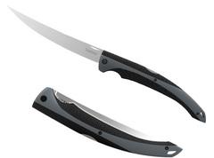 """Складной филейный нож Kershaw 6.25"""" Fillet K1258, сталь 420J2, рукоять пластик/резина, фото 1"""