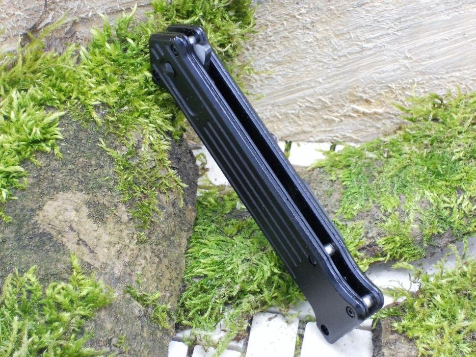 Фото 6 - Складной нож Magnum Intricate - Boker 01LL312, сталь 440A EDP, рукоять анодированный алюминий, чёрный