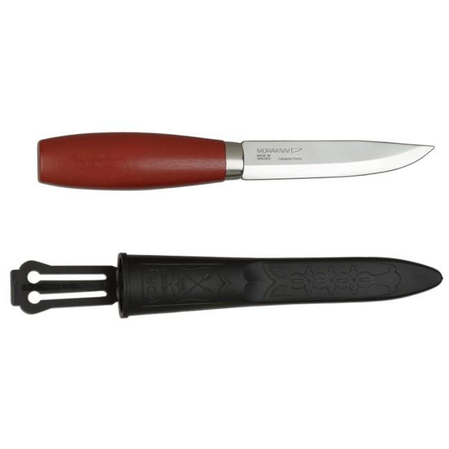 Фото 4 - Нож с фиксированным лезвием Morakniv Classic № 1, углеродистая сталь, рукоять береза